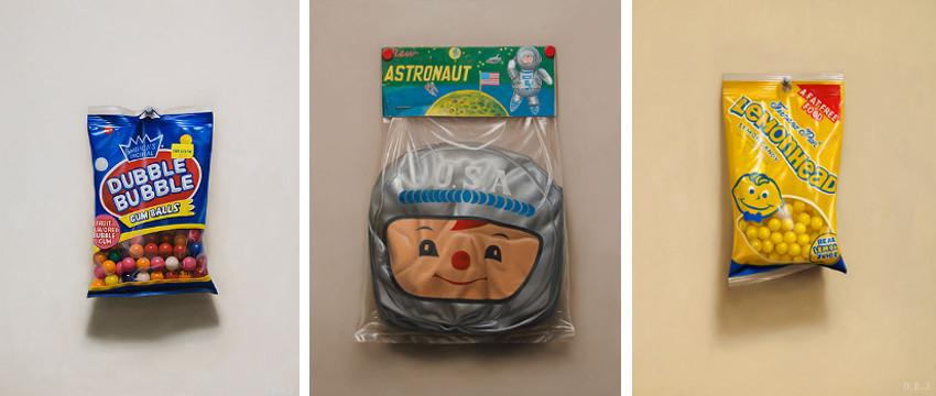 Dan Jackson - Dubble Bubble, 2009 - New Astronaut, 2015 - Lemonhead, 2010