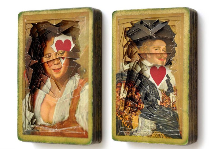Dan Levin - Lonely Heart no. 1020-21, 2015