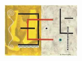 Dan Namingha-Symbolism Study #2-2007