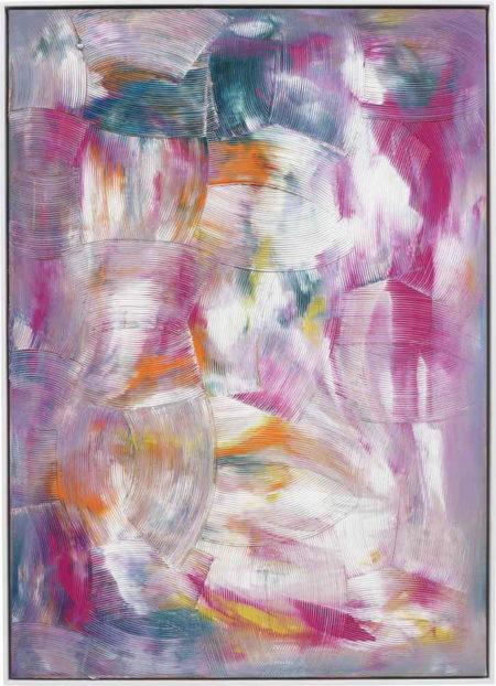 Dan Rees-Artex Painting-2011