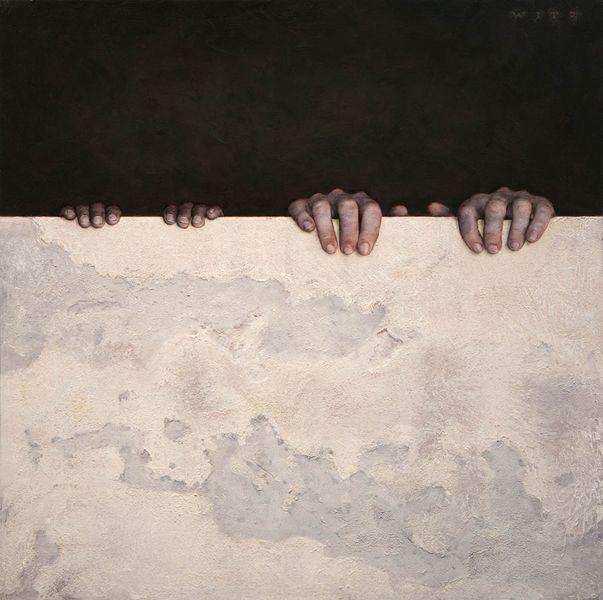Dan Witz - Kilroy Square (two hands)