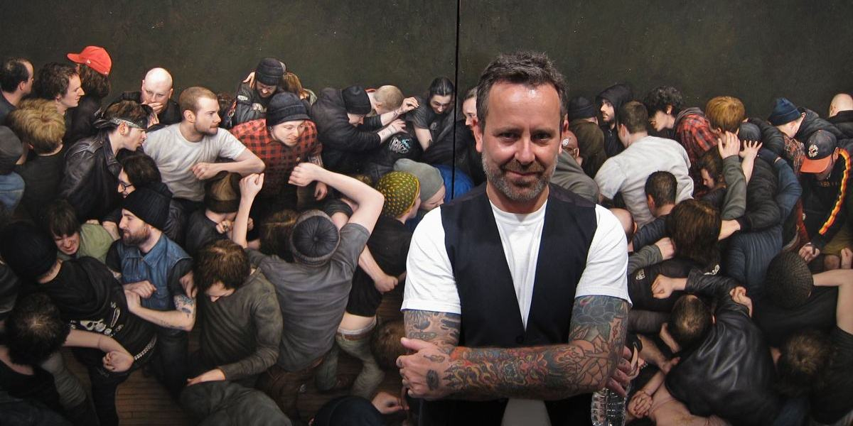 Image result for Mosh Pit (Dan Witz)