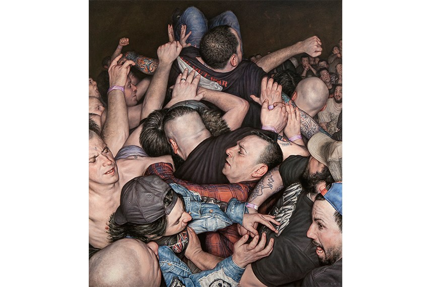 Dan Witz - Scrum 2 (All Out War)