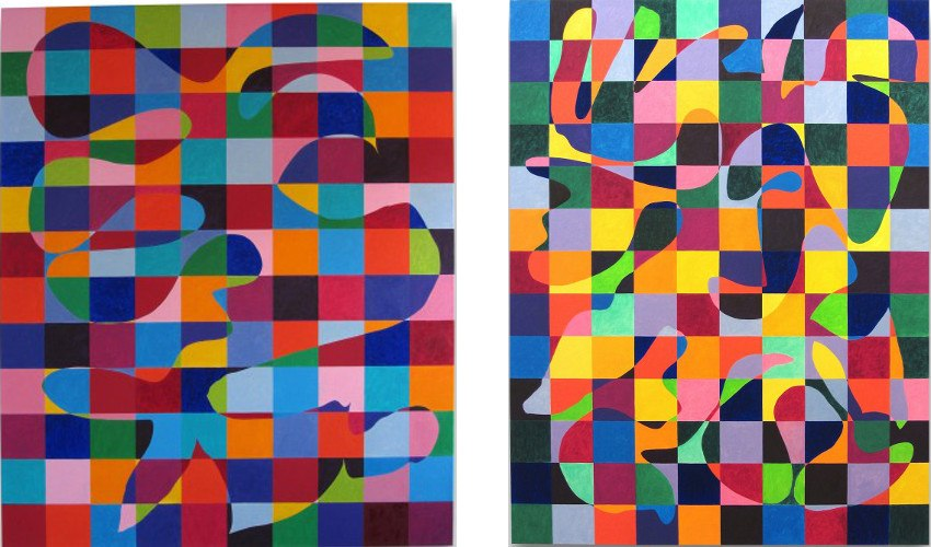 D.Gordon - Balancing Act - 2012 (Left) / Coming Out - 2011 (Right)