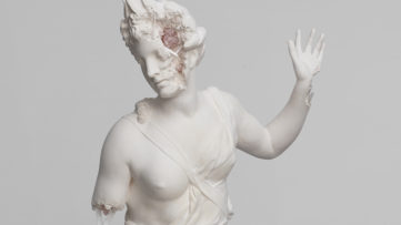 Daniel Arsham - Rose Quartz Eroded Hamadryade