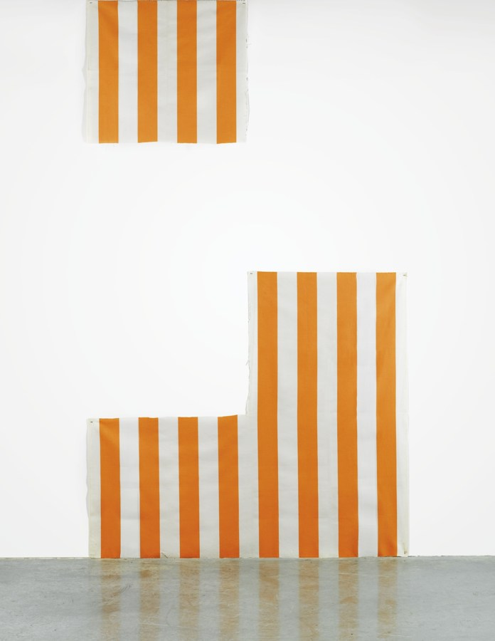Daniel Buren-Une Peinture En Deux Work In Situ-1972