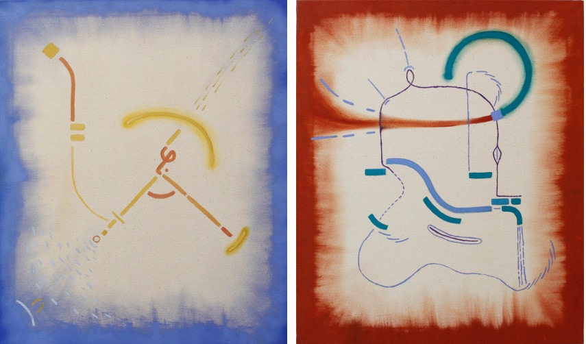Daniel Correa - Two untitled pieces from 2015