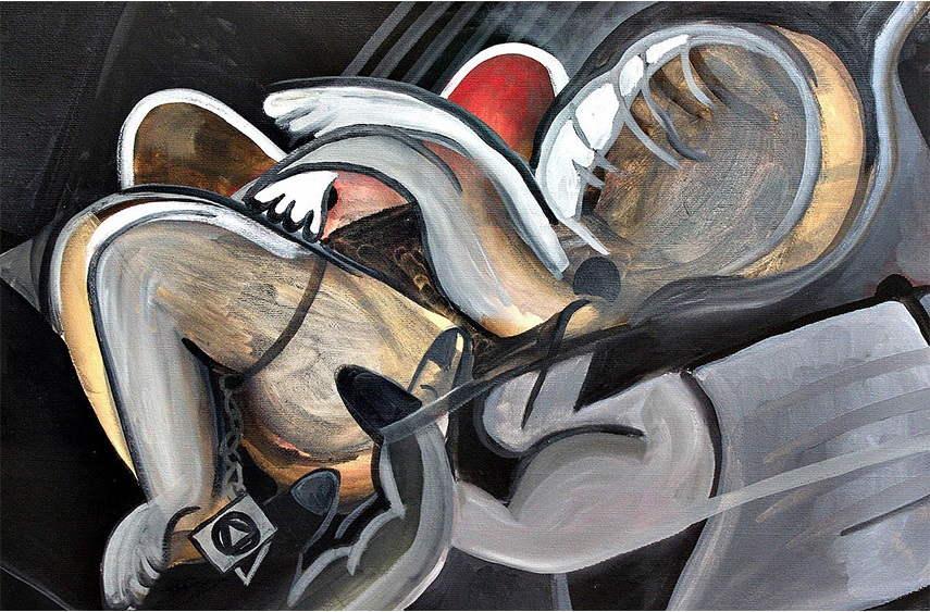 Daniel Dalopo - Untitled, 2013 casariche street sevilla httpswww aufrufe canvas