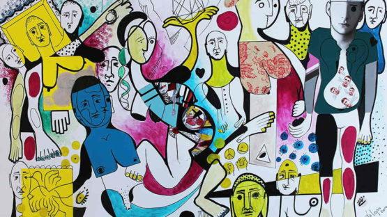 Daniel Dalopo - Untitled (detail), 2014