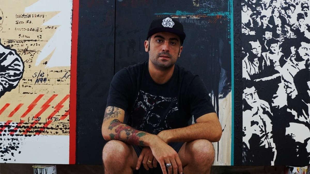 Daniel Melim artist portrait