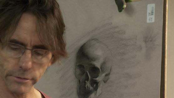 Daniel Sprick - portrait of the artist