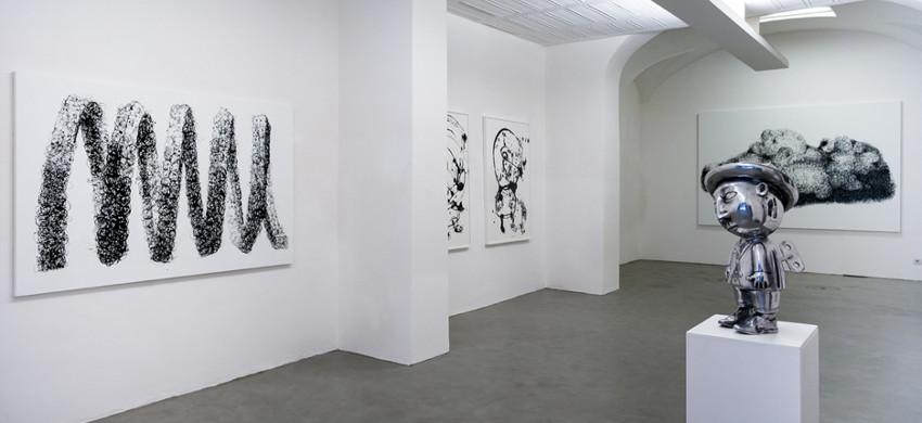 Danilo Bucchi - Monochrome - solo show at Galleria Poggiali e Forconi - 2015