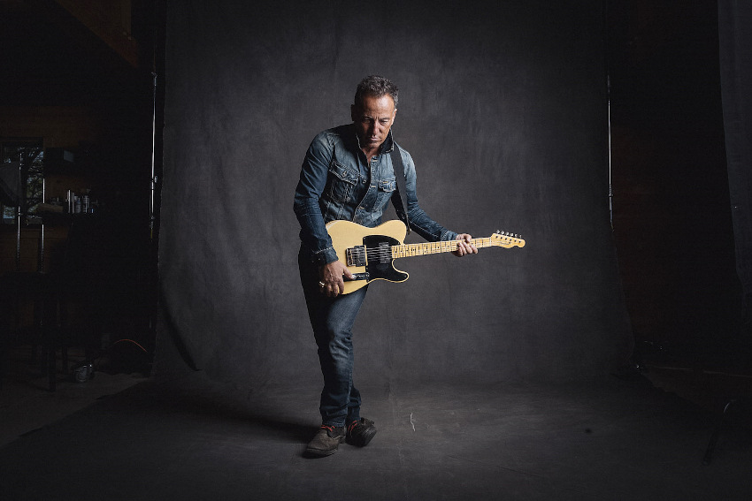 Danny Clinch - Bruce Springsteen, news about new jam video in 2016