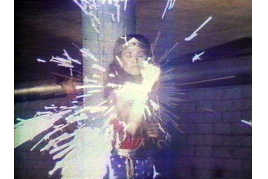 Dara Birnbaum - Technology Transformation:Wonder Woman (video still), 1978