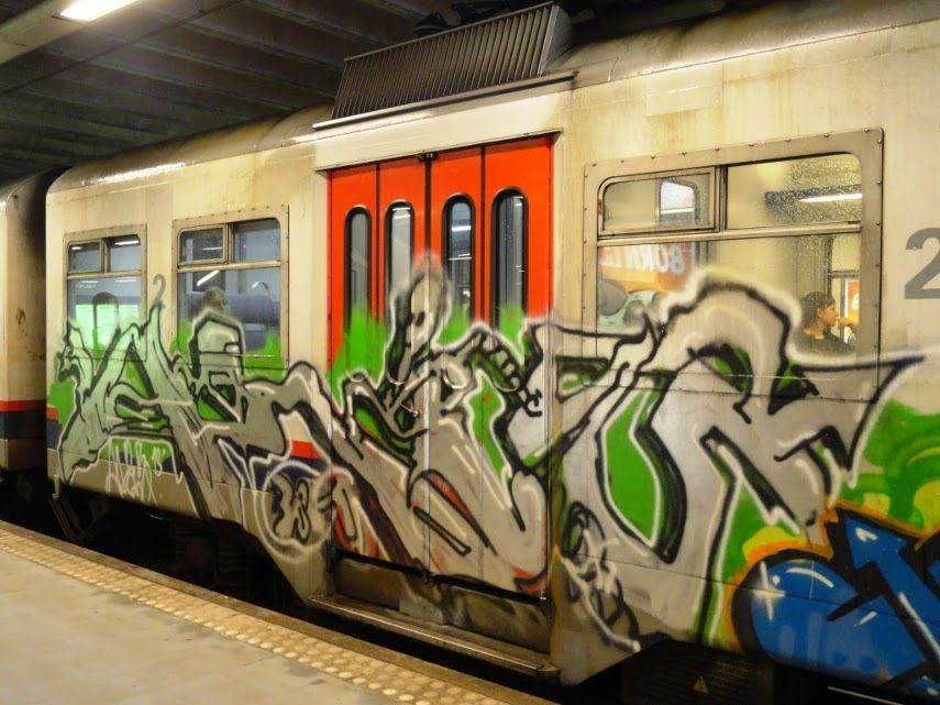 Darco - One of Darco's metro car tags