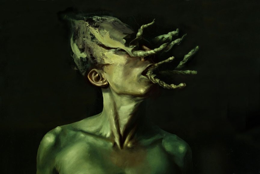 Dario Puggioni creates scary paintings that are extremely beautiful and full of decay and torment