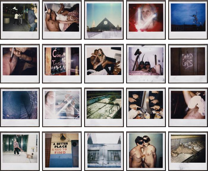Dash Snow-Polaroid Wall-2005