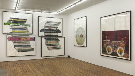 Dave Muller - Death Disco, The Approach, London, 2013, installation view, photo credits - Contemporary Daily