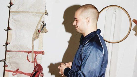 David Adamo studio visit - photo via Sleek Mag