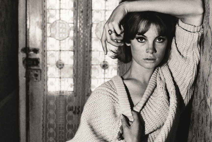 David Bailey - Jean Shrimpton at Bailey's family home via Vogue.co.uk 1200