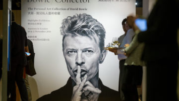 David Bowie's Art Collection. price bid terms here; sales news christie's sales news christie's