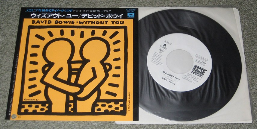 David Bowie's Without You Album - image via tokyomusicjapancom