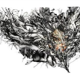 David Choe-Bird Flu-2014