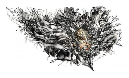 David Choe-Bird Flu-2014