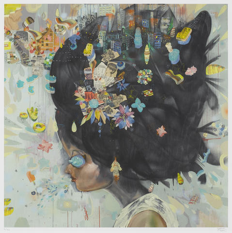 David Choe-City Girl-2007