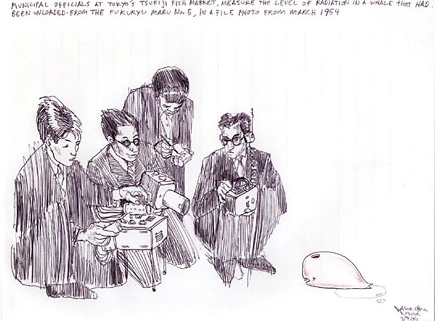 Prison drawings