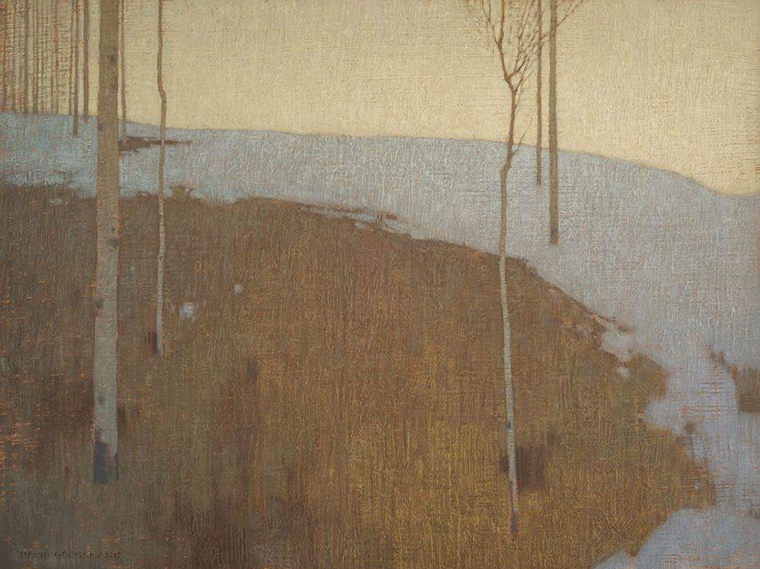 David Grossmann - Silent Winter Forest, 2014