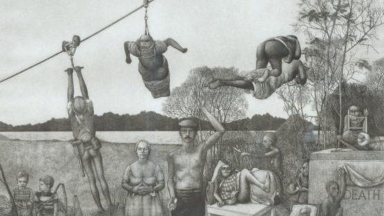 David H Becker - A Tremble in the Air, 1971 (detail)