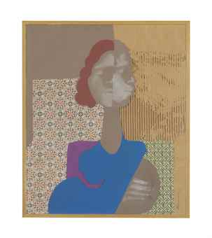 David Hammons-Blue Female-1974