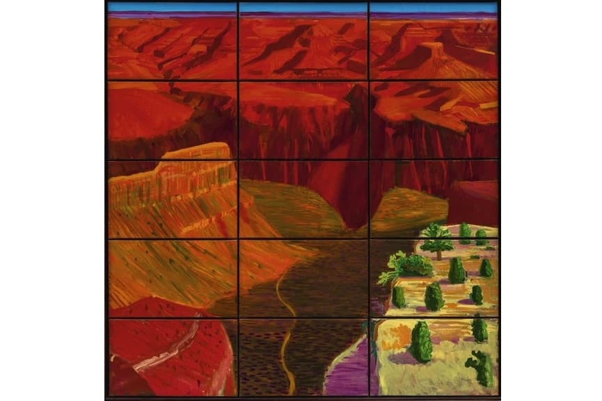 15 Canvas Study Of The Grand Canyon, 1998