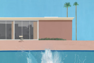 music albums of jay dre inspired some of hockney's pieces
