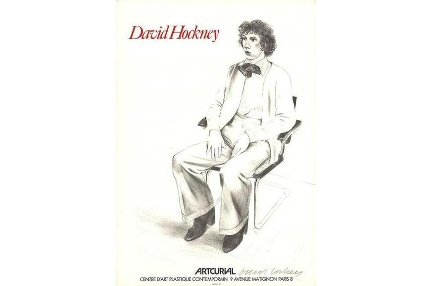 David Hockney - Artcurial, Gregory Evans, 1979