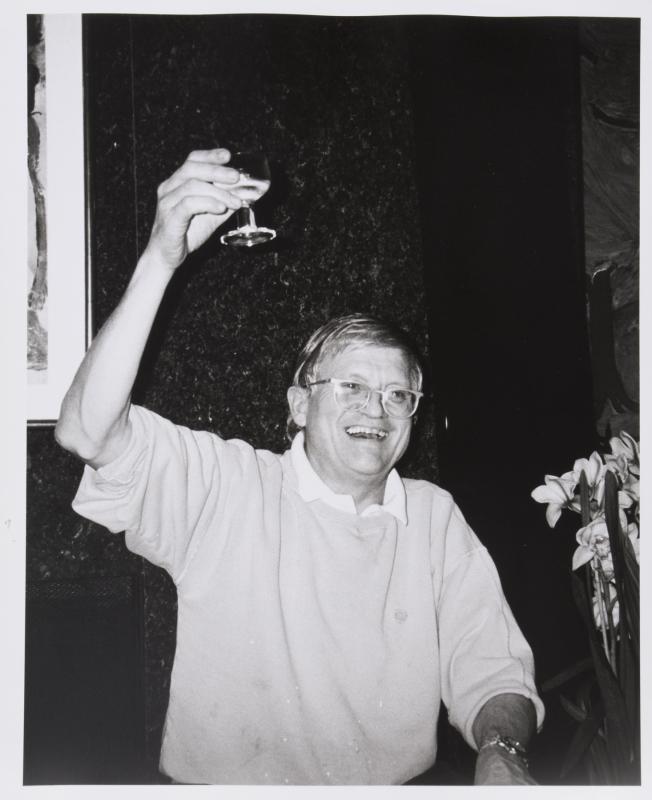 David Hockney-Bar-B-Que-
