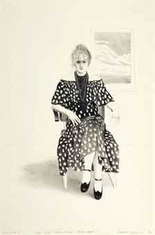 David Hockney-Celia, 8365 Melrose Avenue, Hollywood-1973