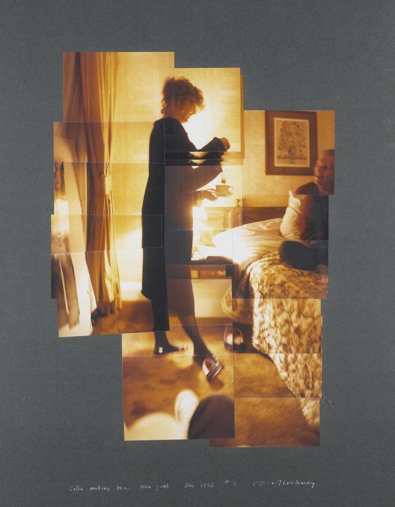 David Hockney-Celia Making Tea-1982