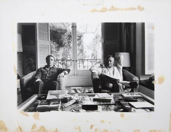 David Hockney-Christopher Isherwood And Don Bachardy (Study)-
