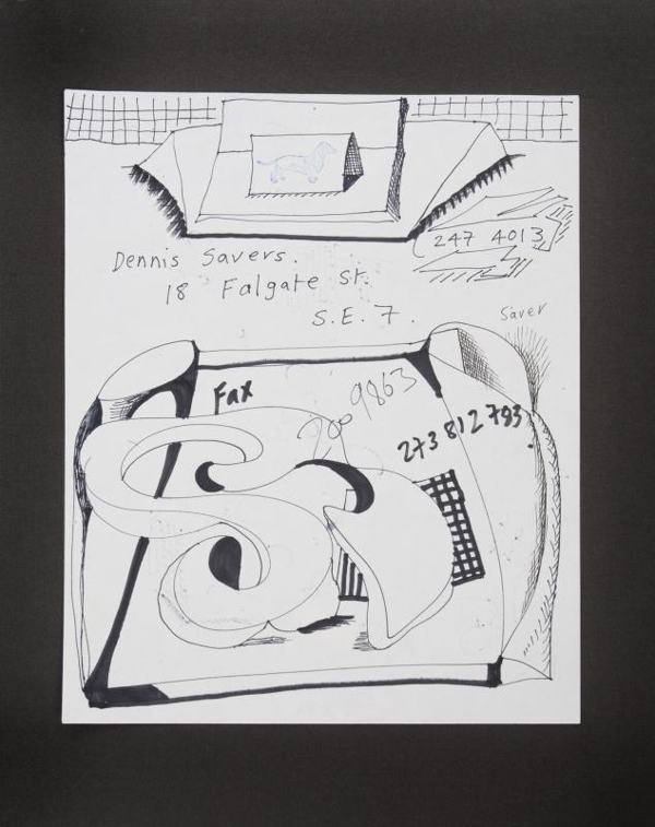 David Hockney-Dennis Severs Fax-