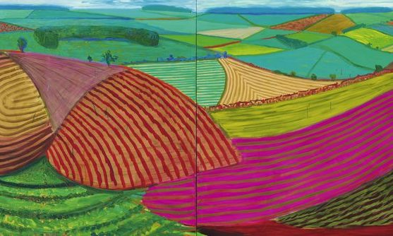 David Hockney - Double East Yorkshire, 1998