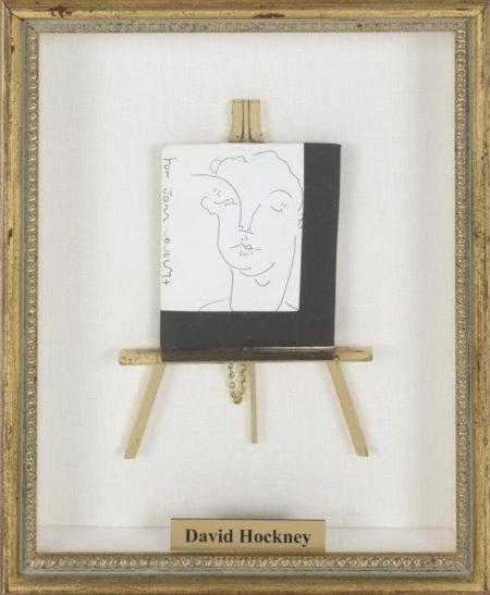 David Hockney-For John-