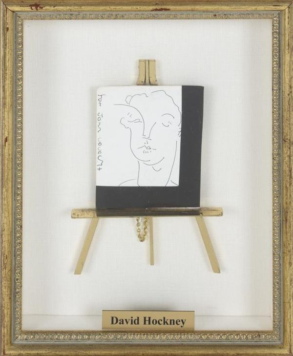 David Hockney-For John-