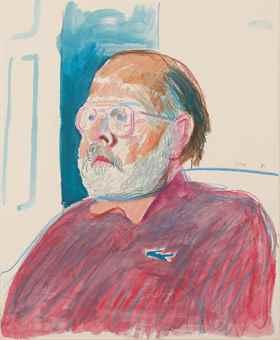 David Hockney-Henry Geldzahler-1981