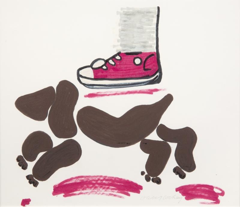 David Hockney-Ian & Heinz-1986