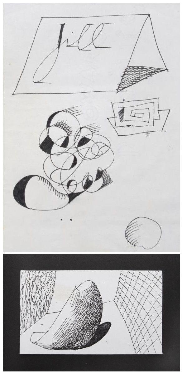 David Hockney-Jill-
