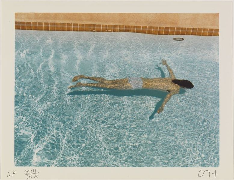 David Hockney - John St. Claire Swimming, April 1972