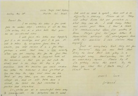 David Hockney-Letter In Praise Of Fax Machines-