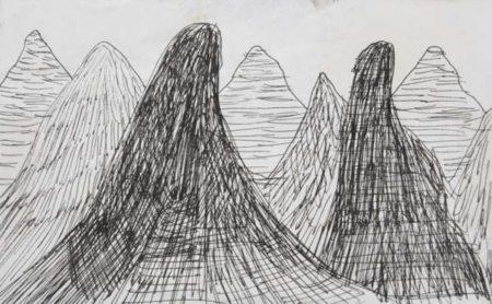 David Hockney-Mountains-
